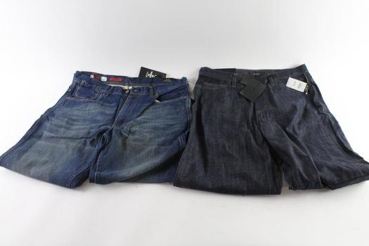 Ecko And Sean John Jeans, 34 And 38, 2 Pieces