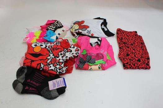 Elmo, Strawberry Shortcake+ More Clothing+ More , 10+  Pieces