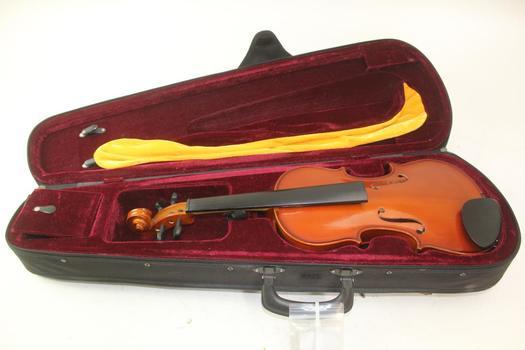 EM Winston 4/4 Violin With Case