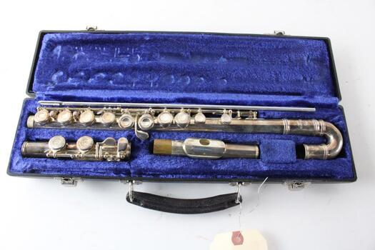 Emerson Curved Flute With Case