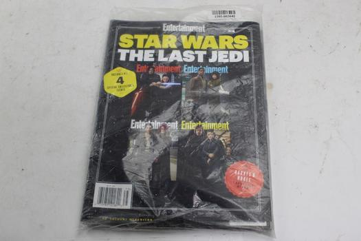Entertainment Weekly Star Wars Special Collector's Magazine Issues, 4 Pieces