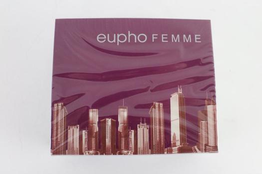 Eupho Femme, Womens Fragrance Spray, 3.3 FL Oz., 12 Pieces
