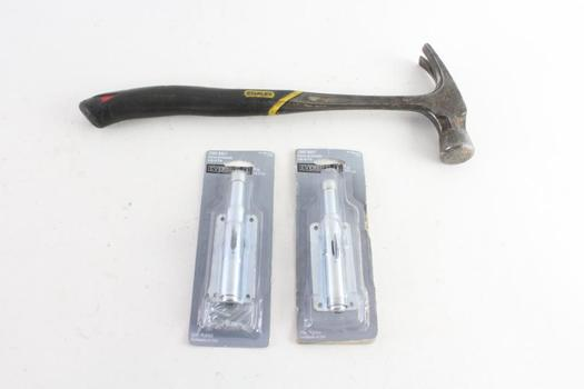 Everbilt Foot Bolts And More, 3 Pieces