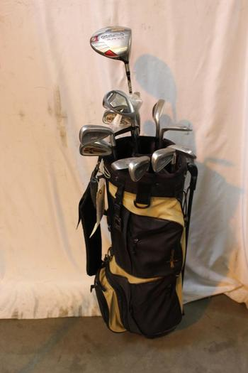Excalibur Bag With Clubs, 14 Pieces