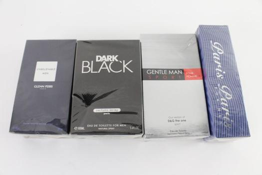 Excell Brands Gentleman Sport And Other Men's Fragrances, 4 Pieces
