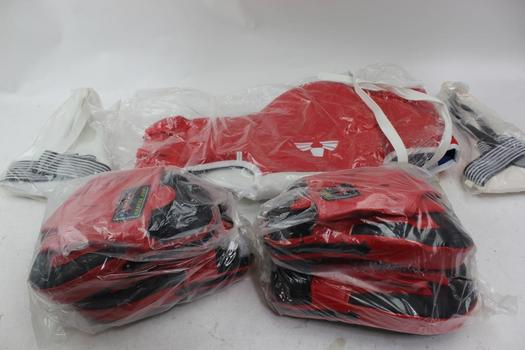 Extreme Boxing Pads, Chest Guard And More, 5 Pieces