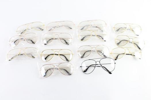 Eyeglasses Bulk Lot, 13 Pieces