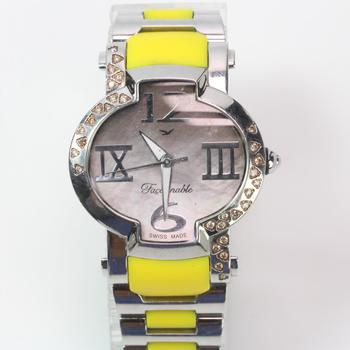 Faconnable 'Lady Hydra' Watch With Diamond Accents