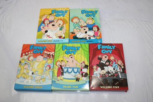 Family Guy: Volumes One To Five DVD Sets