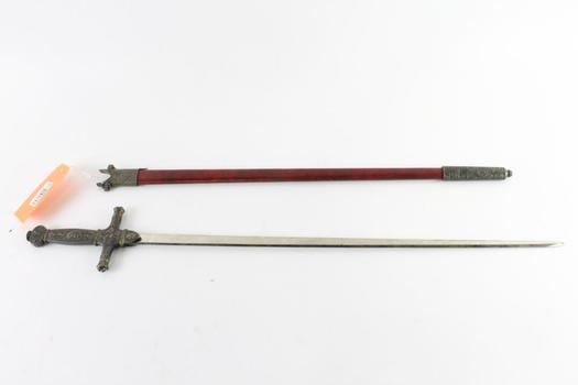 Fantasy Sword With Scabbard