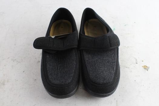 Faomtreds Men's Slippers, Size 10