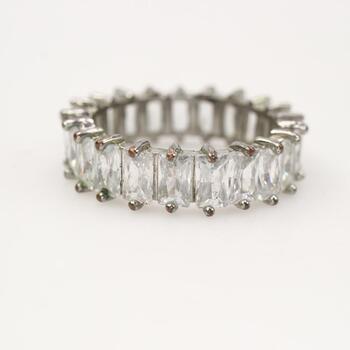 Fashion Clear Stone Ring