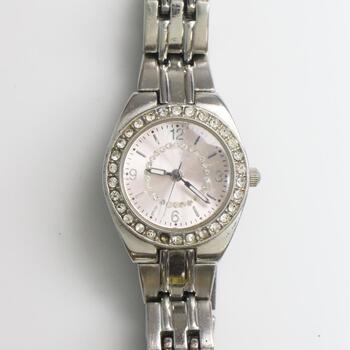 Fashion Clear Stone Watch