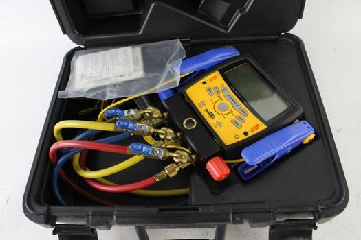 Fieldpiece Digital Manifold + Vacuum Gauge