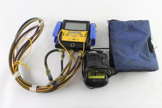 Fieldpiece Digital Manifold + Vacuum Gauge And More, 2 Pieces