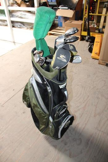 Fileist Bag  With Clubs, 13 Pieces
