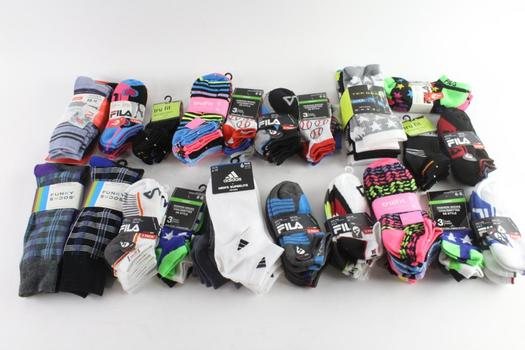 Fils And Other Socks, 10+ Pieces