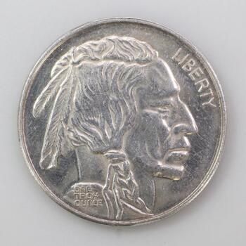 Fine Silver American Buffalo Commemorative Coin 1 troy oz
