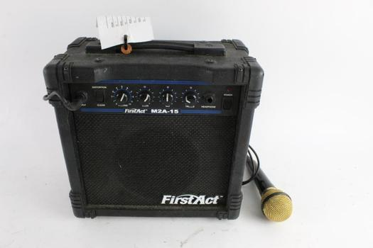 First Act Guitar Amp With Microphone