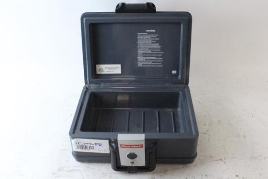 First Alert Lock Box With Key