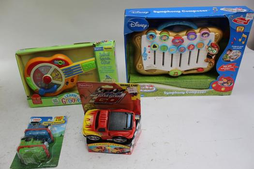Fisher Price, Leap Frog, Thomas And Friends Assorted Toys, 4 Pieces