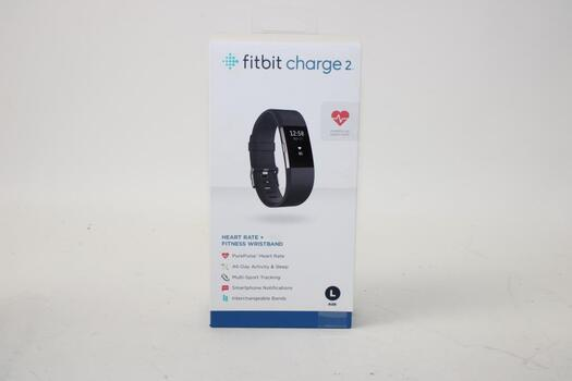 Fitbit Charge 2 Heart Rate + Fitness Wristband - Black