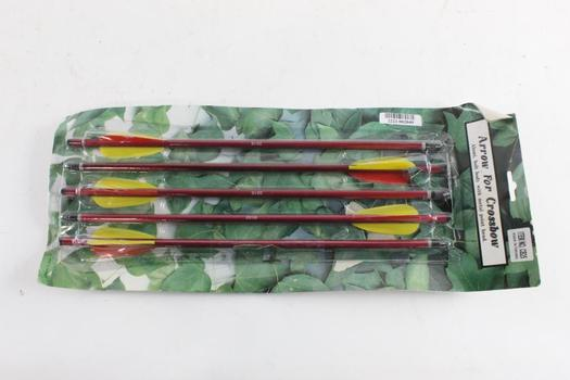Five Pack Crossbow Arrows