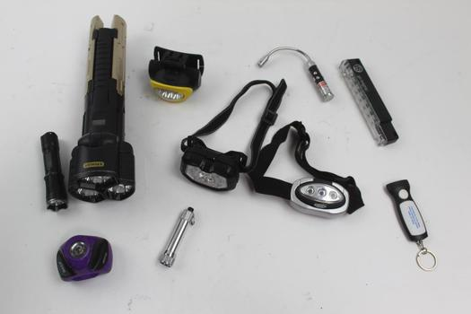 Flashlights, Headlights And More: Stanley, Hybeam, Go Brightz And More: 10+ Pieces