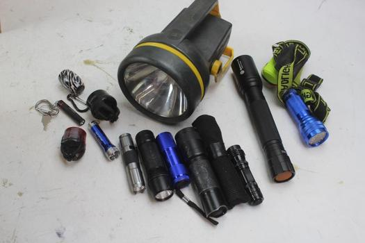 Flashlights: Mini MagLite, Defiant, Coast And More: 5+ Items