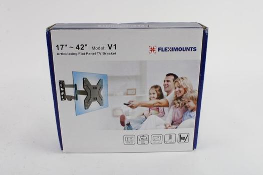 Fleximounts Articulating Flat Panel TV Bracket