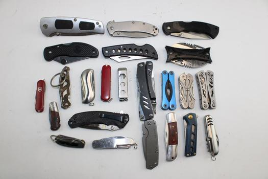 Folding Knives And More 10+