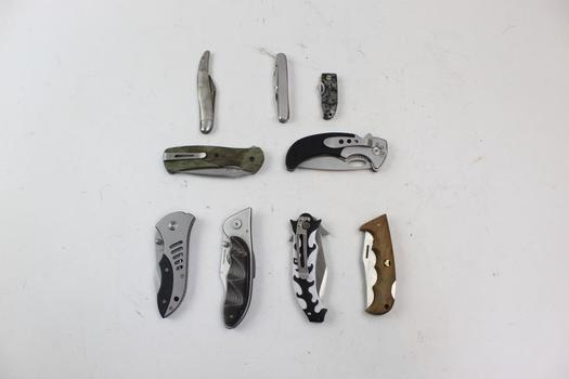Folding Knives: Frost Cutlery, Buck, Fury And More: 5+ Pieces