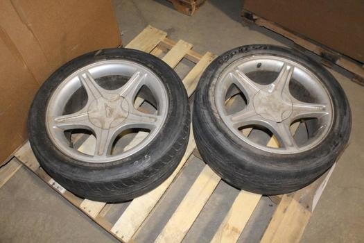 """Ford 17"""" Rims/wheels, 2 Pieces"""
