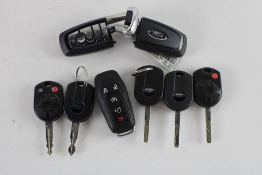 Ford Key FOBs, 8 Pieces