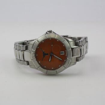 Fossil College Collection-Texas Longhorns Watch