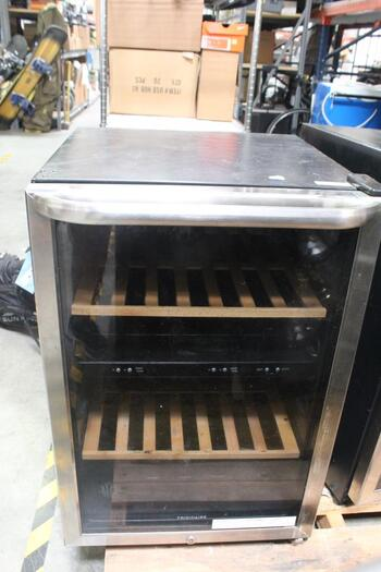 Frigidaire - Wine Cooler - Stainless Steel