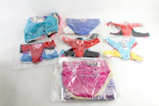 Fude Womens Underwear And More, Assorted Sizes, 20+ Pieces