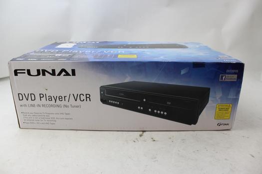 Funai DV220FX5 Dual-Deck DVD And VHS Player