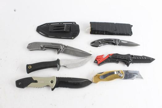 Fury And Other Knives, 6 Pieces