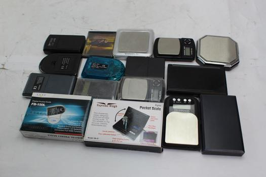 Fyne, Supreme Weigh, Digiweigh+ More Assorted Scales 10+ Pieces