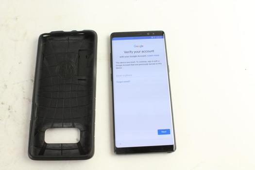 Galaxy Note 8, Google Account Locked, Sold For Parts