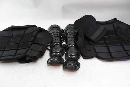 Galls Tactical Vests, Shin Guards Unknown Brand, 4 Pieces
