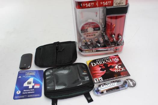 Game Stop Starter Kit, Jvc Earphones, Zte Hotspot+ More 6 Pieces