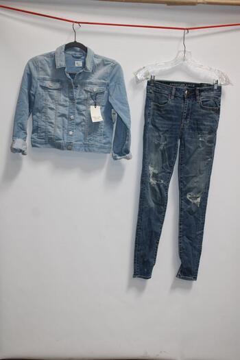 Gapkids Denim Jacket & Aeropostal Denim Jeans Kids Clothing