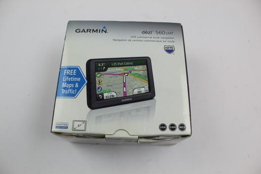 Garmin Dezl 560 Lmt GPS