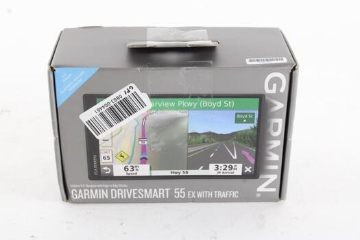 Garmin Drivesmart 55EX With Traffic