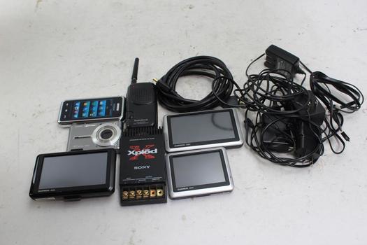 Garmin GPS, Casio Digital Camera And More, 5+ Pieces