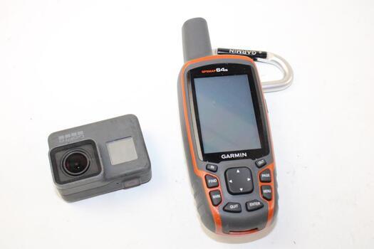 Garmin Walkie Talkie And GoPro Camera