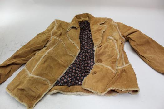 Genuine Leather Jacket Size Medium