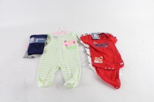 Gerber And Garanimals Baby Clothes, 3 Pieces